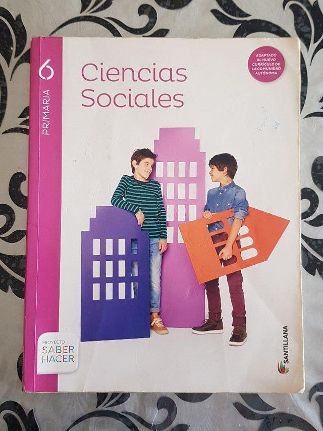 Libro Ciencias Sociales (6° de primaria)