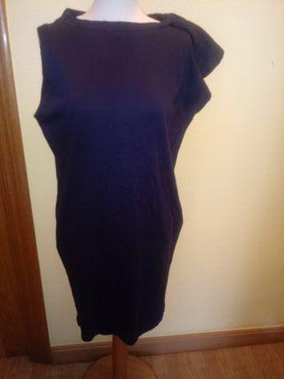 Vestido corto.
