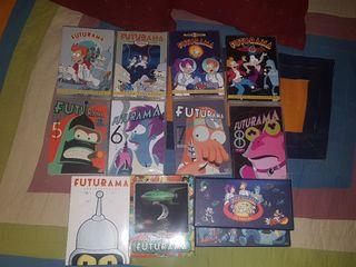 Colección Futurama 8 temporadas + Películas figura