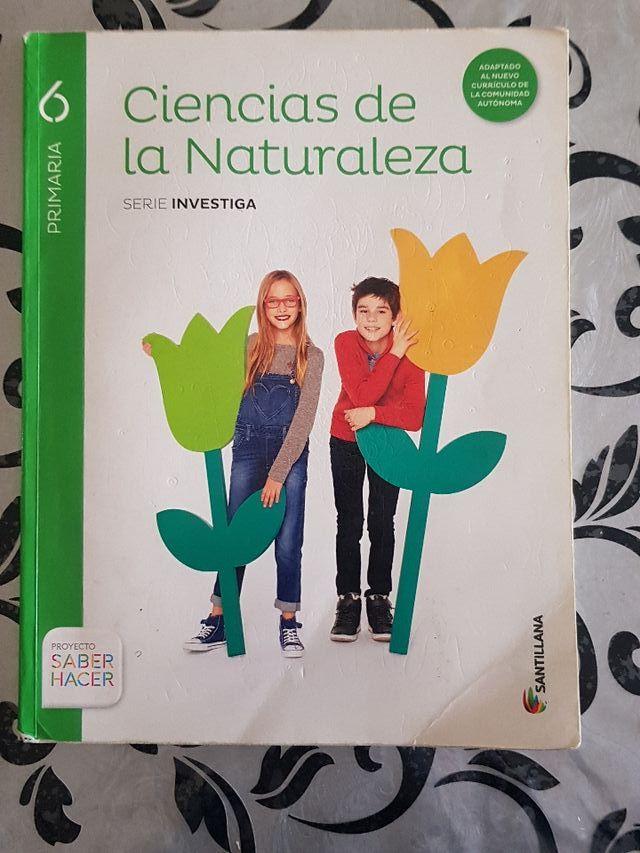 Libro de Ciencias de la Naturaleza(6° de primaria)