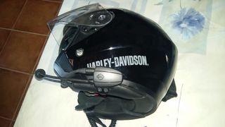 Cascos Harley-Davidson con intercomunicadores
