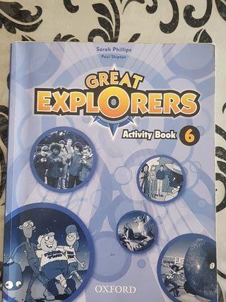 Libros de inglés (6° de primaria)