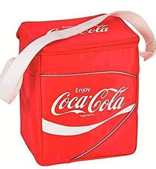 A NEVERA PORTATIL COCACOLA RETRO NYLON PICNIC