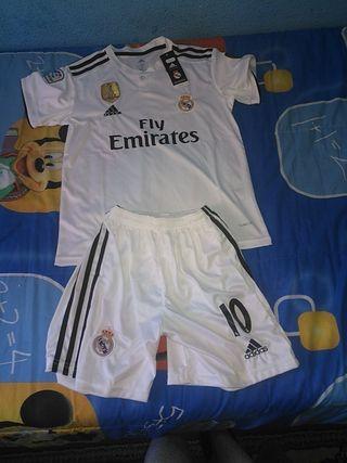equipación Real Madrid nuevo