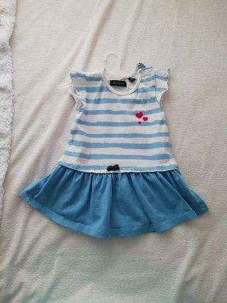Vestido para niña, talla 62-68, 3-6 meses