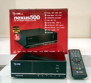 Reproductor Multimedia HD1080 con disco duro 1 TB
