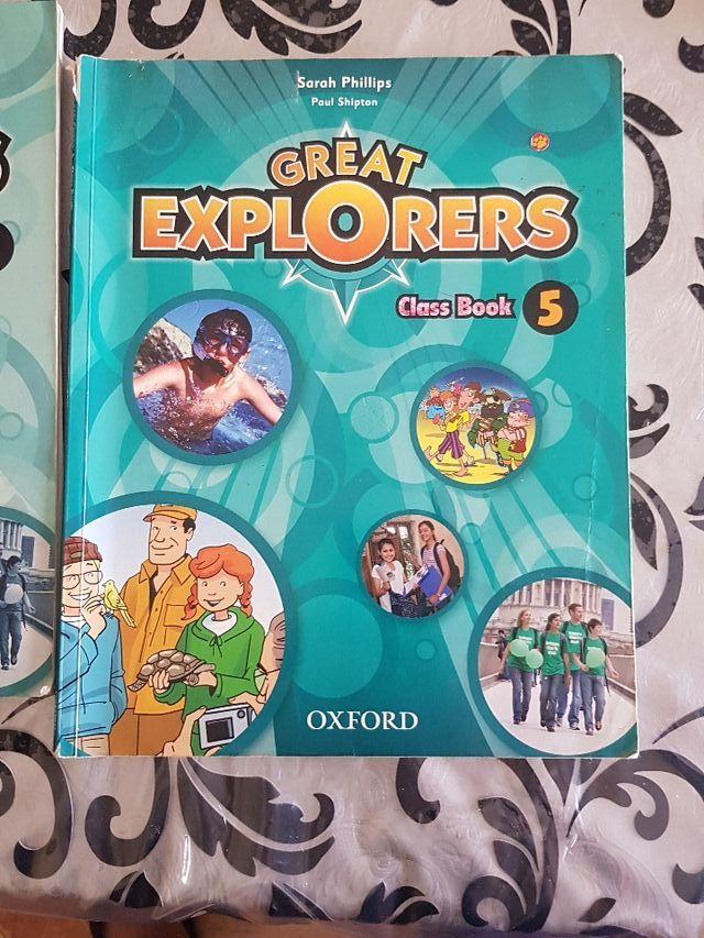 Libros de inglés(5° de primaria)