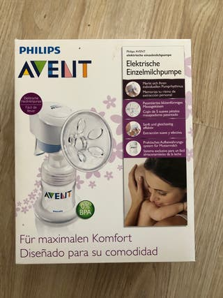 Sacaleches Philips Avent Comfort SCE312/01