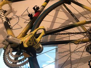 Bici carretera carbono antigua