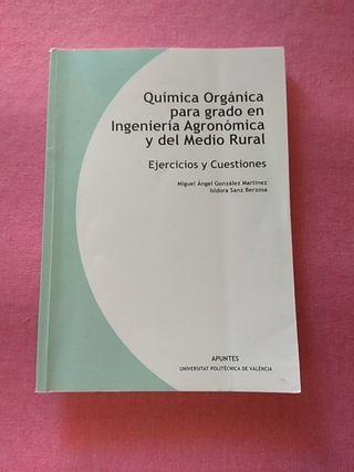QUIMICA ORGÁNICA PARA GRADO EN INGENIERÍA AGRONOMI