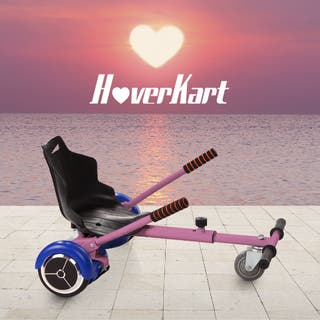 Hoverboard bluetooth + kart asiento silla AZUL