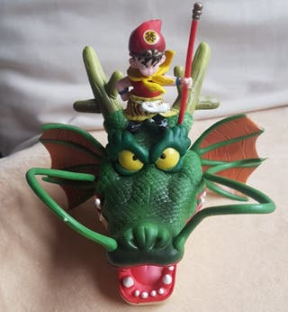 LIQUIDACIÓN!Figura Son Gohan Dragón Shenron. NUEVA