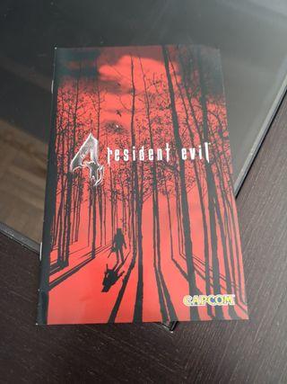 Manual Resident Evil 4 de PlayStation 2