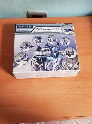 Juego de construcción Eco-Space Robotic 7x1