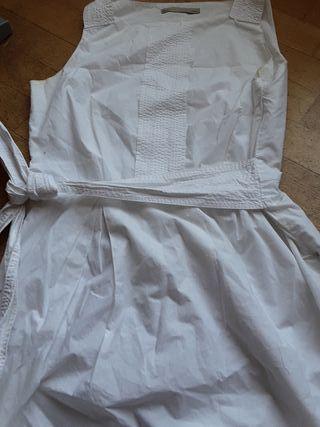 vestido blanco la m