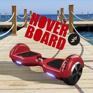 Hoverboard bluetooth + kart asiento silla ROJO