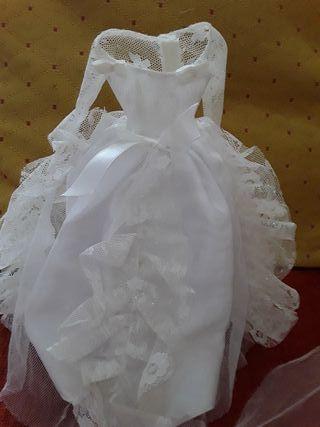 barbie .(vestido novia)
