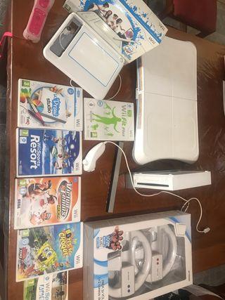 Wii completa o por piezas y juegos