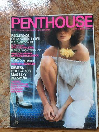 Revista penthouse número 8
