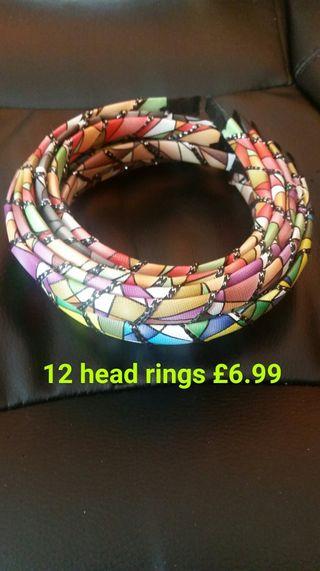 12 girls head rings