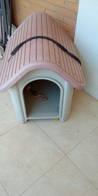 caseta para perro pequeño