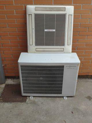 maquina de climatización