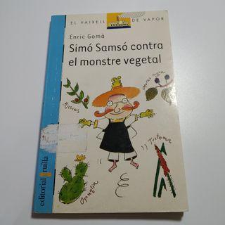 Simó Samsó contra el monstre vegetal