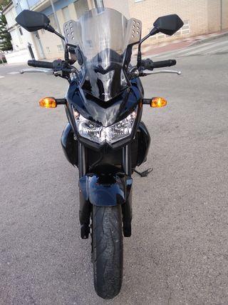 Kawasaki z750 negro