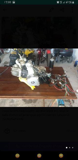 motor 110cc automático