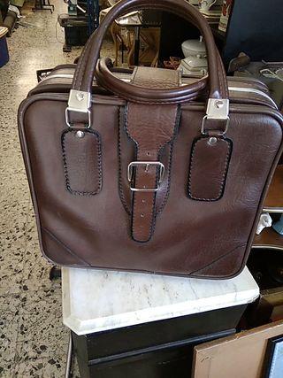 maleta bolsa viaje vintage
