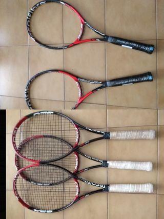 pack 5 raquetas TECNIFIBRE