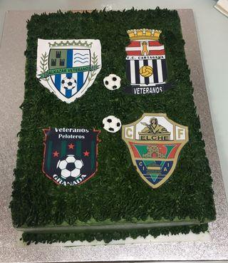 tartas temática futbol