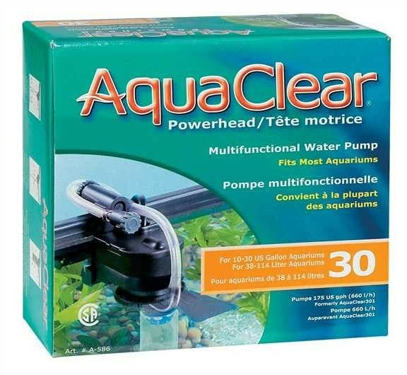 bomba sumergible powerhead Aquaclear 30