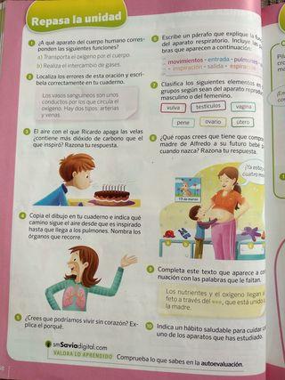 Libro de texto ciencias 4 primaria