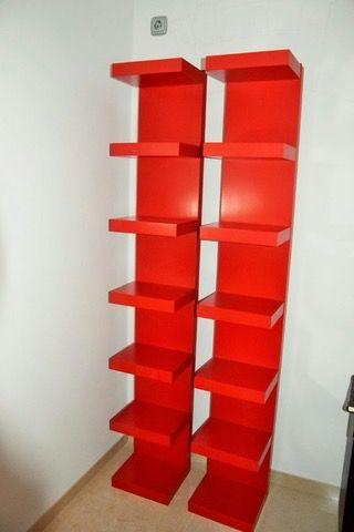 Estanteria Roja Ikea