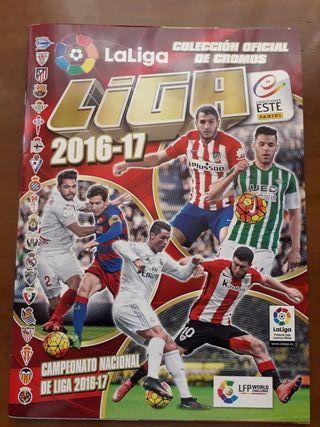 Álbum liga de fútbol 2016-2017