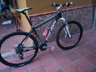 "Bicicleta MTB Conor AFX 7200 29"" talla L"