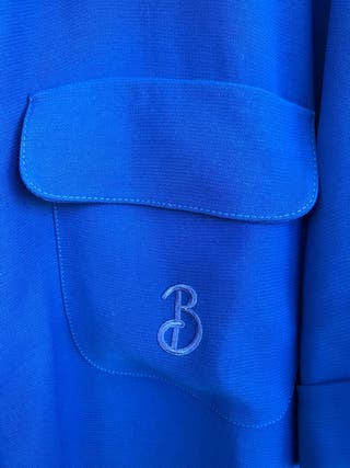 burberry azul klein
