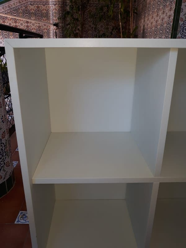 estantería Eket blanca