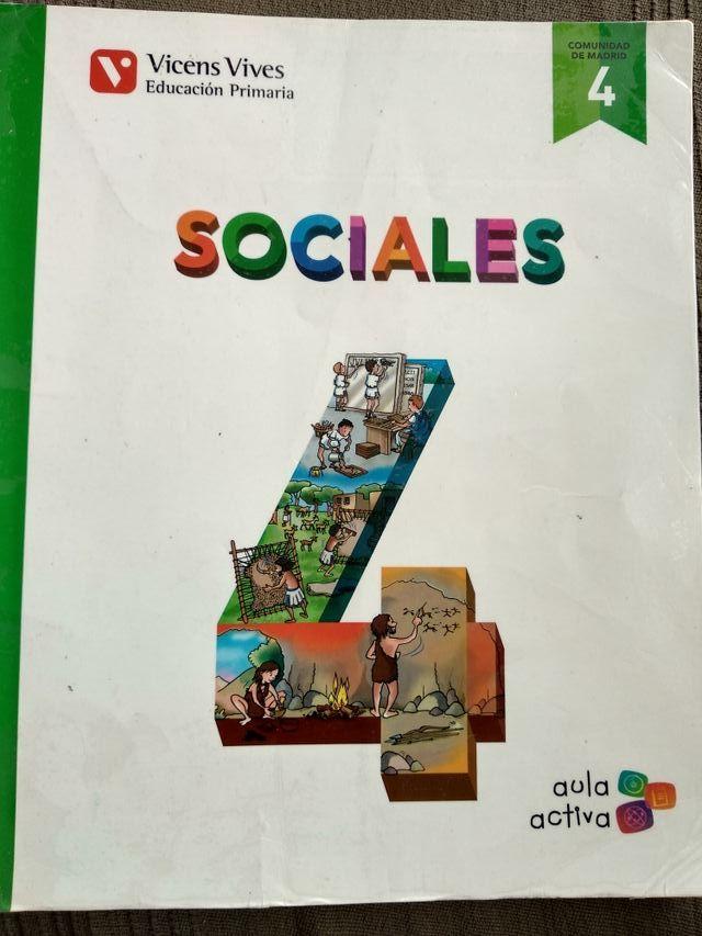 Libro de texto sociales 4 primaria