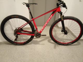 "SPECIALIZED HT CARBON 29"" TALLA S. PESO 9.3"