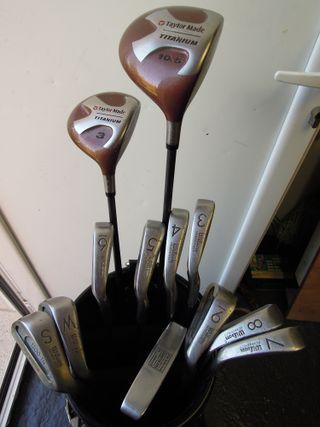 Palos de golf, Wilson y Taylor Made