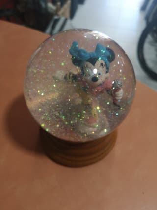 Bola de Nieve Minnie Mouse
