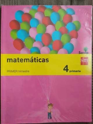 Libro de texto matemáticas 4 primaria