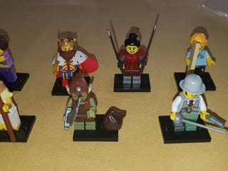 lote minifiguras lego serie 12 y 13 original