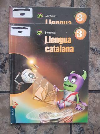 LIBROS DE CATALAN 3 DE PRIMARIA COLE CAN SALVI