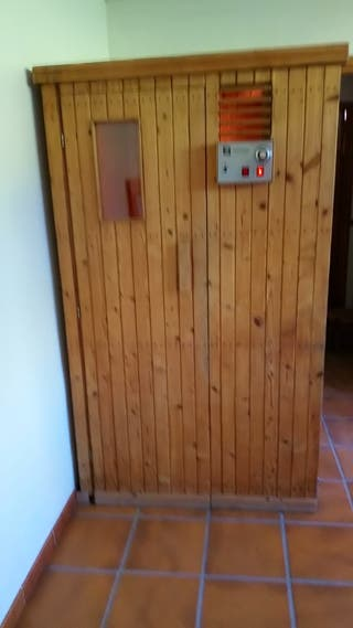 sauna de. madera