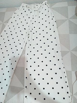 Pantalón ancho Pull&bear
