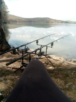 Tripode pesca
