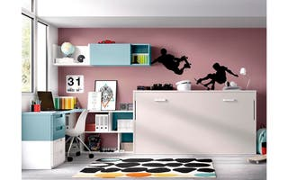 Habitacion con cama abatible rmb406